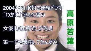 原田夏希・NHK朝ドラヒロイン出産!原田夏希って、誰だっけ? 原田夏希 動画 19
