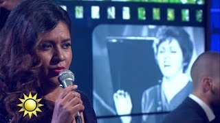 Kristin Amparo - Waiter, Make Mine Blues - Nyhetsmorgon (TV4)
