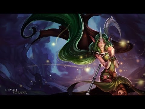 Dryad Soraka Skin Spotlight [Model Update]