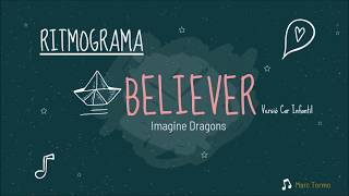 Ritmograma Percussió Corporal - Believer (Imagine Dragons)