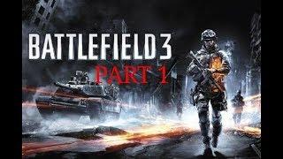 Battlefield 3: Walkthrough - Part 1 [Mission 1: Semper Fidelis] (BF3 Gameplay) [PC] NO COMMENTRY