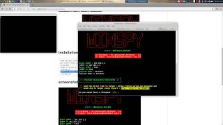 WinSpy : windows Backdoor creator with an Automatic IP Poisener