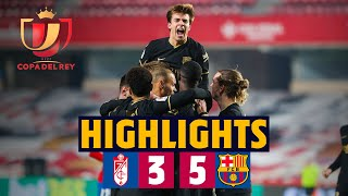 🤯 LATE COMEBACK DRAMA! | HIGHLIGHTS | Granada 3-5 Barça