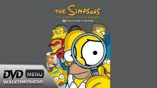 The Simpsons Season 6 (1994-95, 2005) DvD Menu Walkthrough