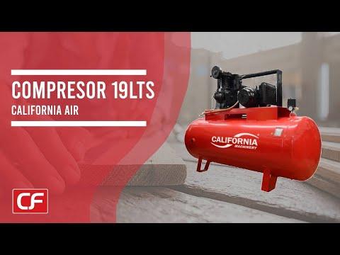 Compresor 1 hp 19 lts 125 psi libre de aceite compresor for Aceite para compresor