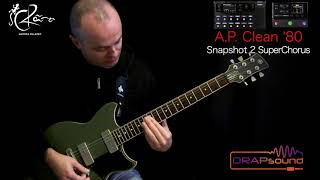 "Andrea Palazzo plays preset ""A.P. Clean '80"" for HELIX and HX STOMP"