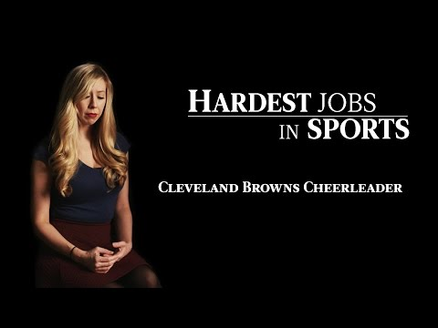Cleveland Browns Cheerleader | Hardest Jobs in Sports