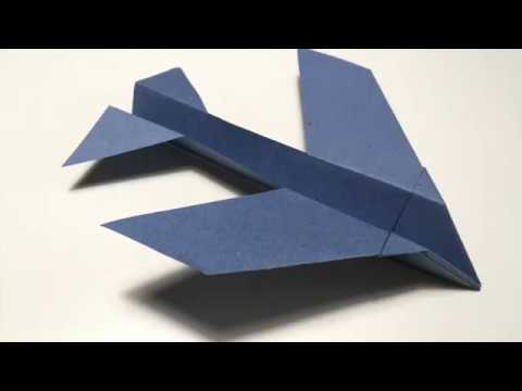 Flying Fish Paper Plane Instructions | Template Included To Download