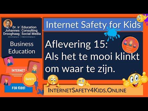 Internet Safety for Kids Aflevering 15 - Als het te mooi klinkt om waar te zijn