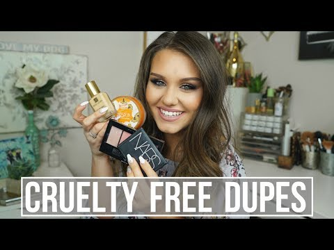 CRUELTY FREE DUPES for POPULAR NON-CRUELTY FREE MAKEUP!!
