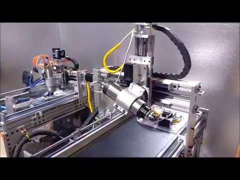 - SEXY - LOW COST DIY 5 axis CNC 12 inch Z with 5th axis test drive