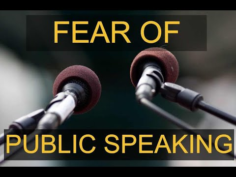 Fear of Public Speacking in West Palm Beach Overcome Fear of Speaking