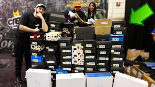 SPENDING $70,000 AT SNEAKERCON IN CASH!!