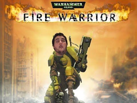 [18+] Шон играет в Warhammer 40,000: Fire Warrior (PS2)