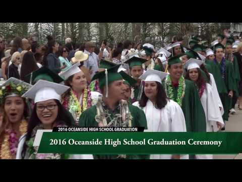 2016 Oceanside High School Graduation