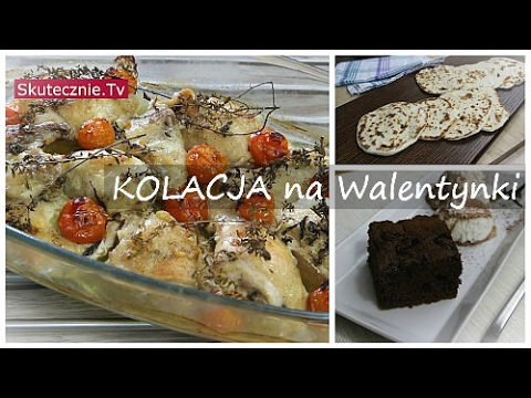 Obiad Na Weekend 004 Kolacja Na Walentynki Lub Inna Okazje