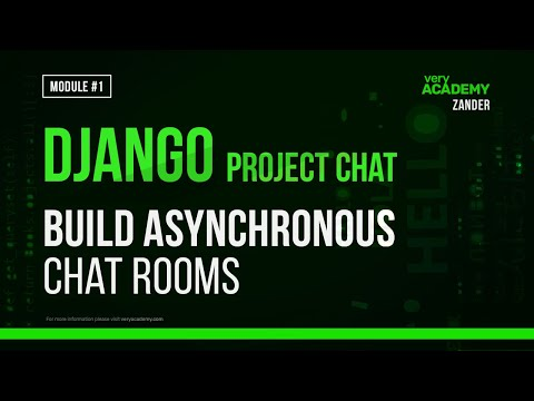 Learn Django - Build an Asynchronous Chatroom with Django and Channels