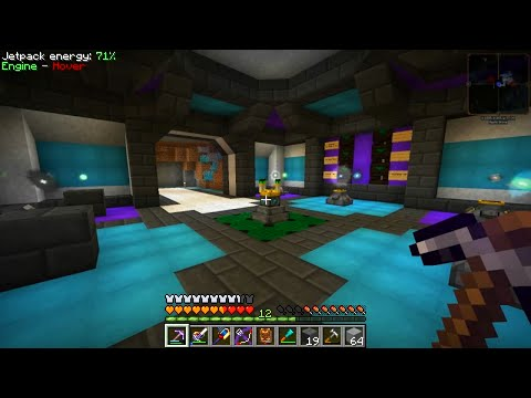 Etho's Modded Minecraft #54: Aura Node Room
