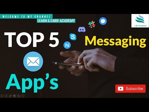 Top 5 Messaging Apps Other Than Whatsapp || Instant Messaging ||