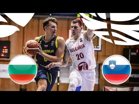 Bulgaria v Slovenia - Full Game - FIBA U20 European Championship Division B 2018