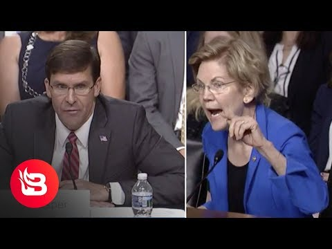 Michael Berry - Fail: Elizabeth Warren Tries To Rip Defense Secretary Nominee Mark Esper