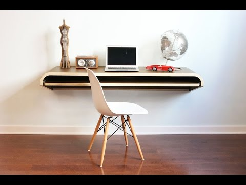 Superbe Wall Mounted Drop Leaf Table