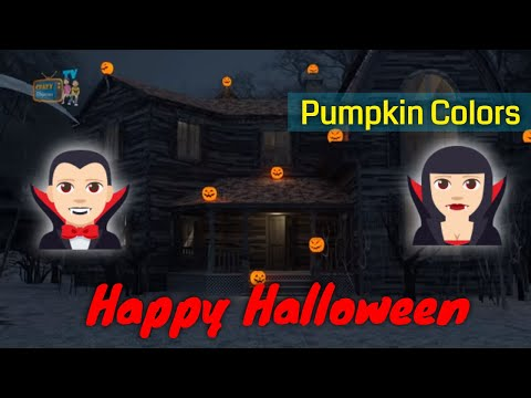 Colors with Halloween, Colors Learning Videos for Kids Children Toddlers Baby