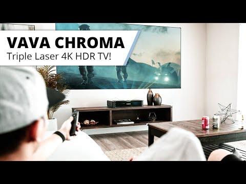 VAVA Chroma - der neue RGB 4K Laser TV von VAVA kommt noch 2021....