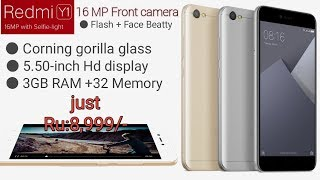 Xiaomi Redmi Y1 price, specifications, features, first inspiration.mp4