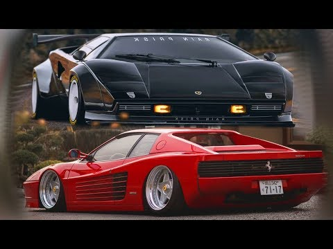 Lamborghini Countach Vs Ferrari Testarossa Versus