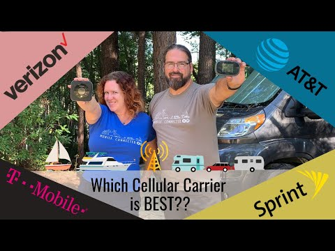 What Is The BEST Cellular Carrier For RVers & Cruisers? Verizon? AT&T? T-Mobile? Sprint?