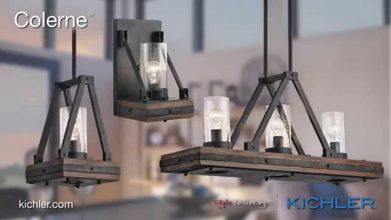 Kichler lighting colerne collection