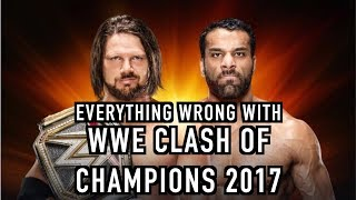 Episode #296: Everything Wrong With WWE Clash Of Champions 2017