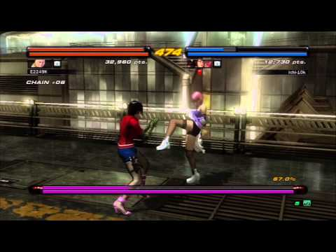 E24K's Tekken 6 - Online Co-Op Adventures with ichi-10k (HAPPY BIRTHDAY DAVID CASH!!)