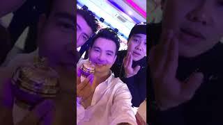 Lâm Hùng hội ngộ cùng Trương Đan Huy tại Cần Thơ event Mỹ Phẩm Nam Anh Khương