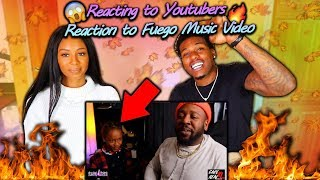"Reacting to Youtubers Reaction to our Video ""Fuego"""