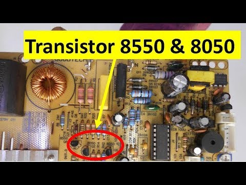How To Check Transistor 8050 And 8550 Very Easily Youtube
