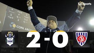 Gimnasia La Plata 2-0 Sportivo Barracas (RESUMEN Y GOLES - Copa Argentina 2020)