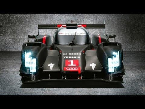 Audi R18 2014 Laser Light Le Mans V6 TDI quattro etron LMP 2014 Commercial Carjam TV HD