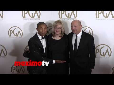 Pharrell Williams 2014 PGA Awards Red Carpet Arrivals