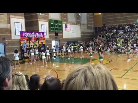 Roosevelt High School Cheer Squad Moving Up Assembly 2016