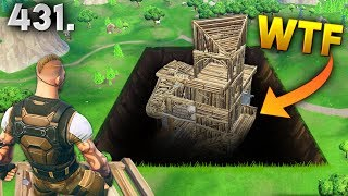 SECRET UNDERGROUND BASE..!! Fortnite Daily Best Moments Ep.431 Fortnite Battle Royale Funny Moments