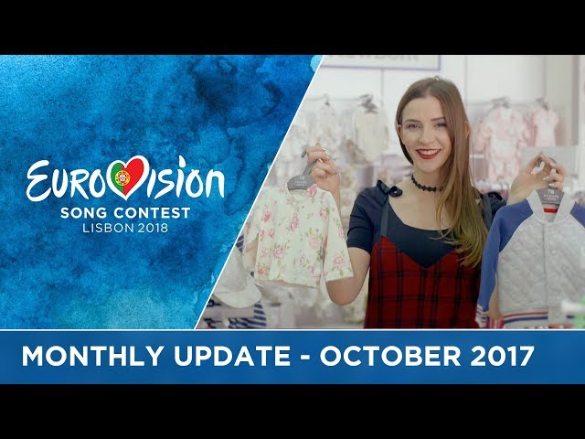 Eurovision Song Contest - Monthly Update - October 2017