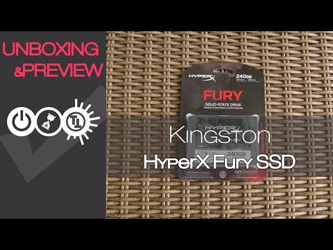 Kingston HyperX Fury SSD Review & Unboxing