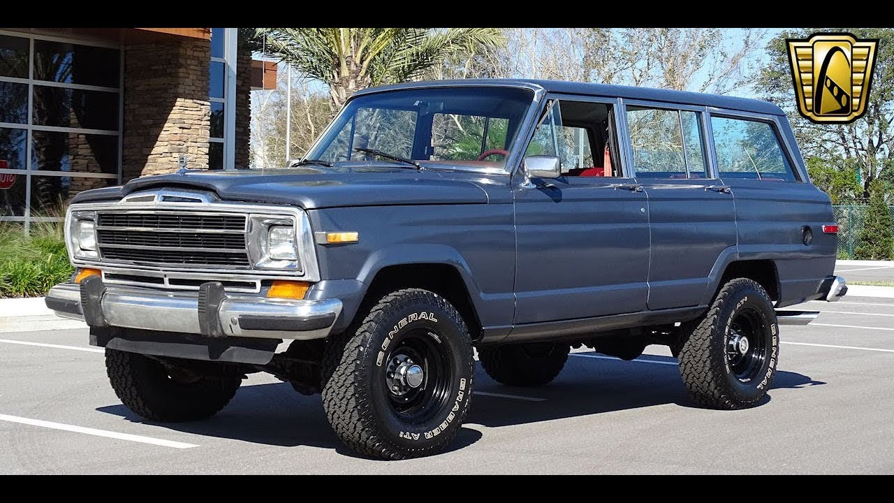 Jeep Grand Wagoneer >> 1986 Jeep Grand Wagoneer Gateway Orlando 1075 Youtube