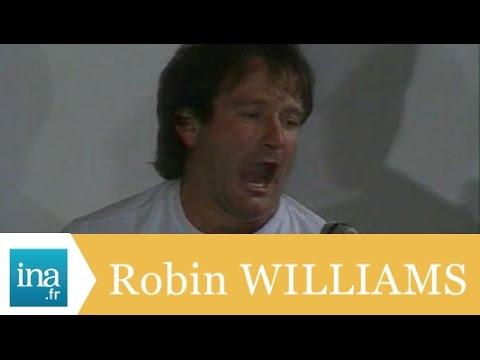 Robin Williams, sa meilleure conférence de presse - Archive INA
