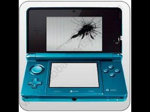 Broken Nintendo 3ds Screen Lcd Screen Leaking Youtube