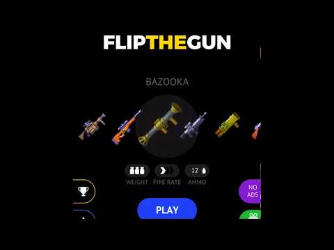 Download Flip The Gun - Simulator Game (iOS/Android) - PureGames io