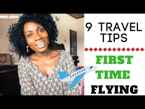 FIRST TIME FLYING? | TRAVEL TIPS | SASSY FUNKE