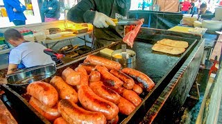 Argentinian Chorizo Sausage in Great Sandwiches Tasted in Soho. London Street Food thumbnail